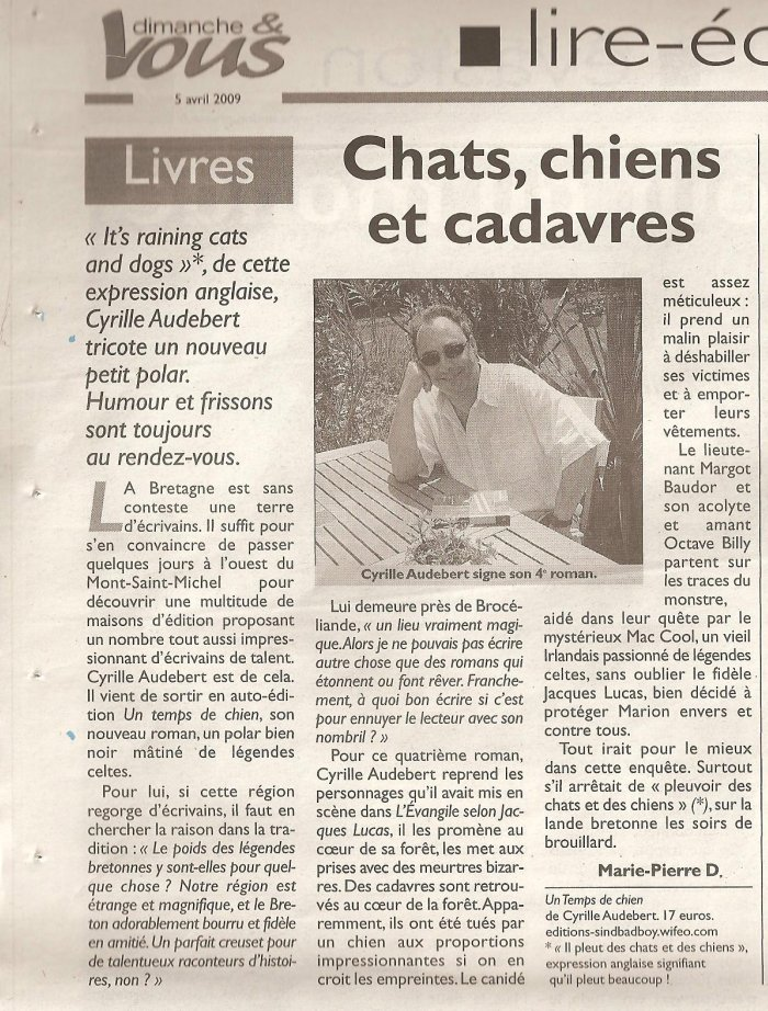 Article du journal L`Union.