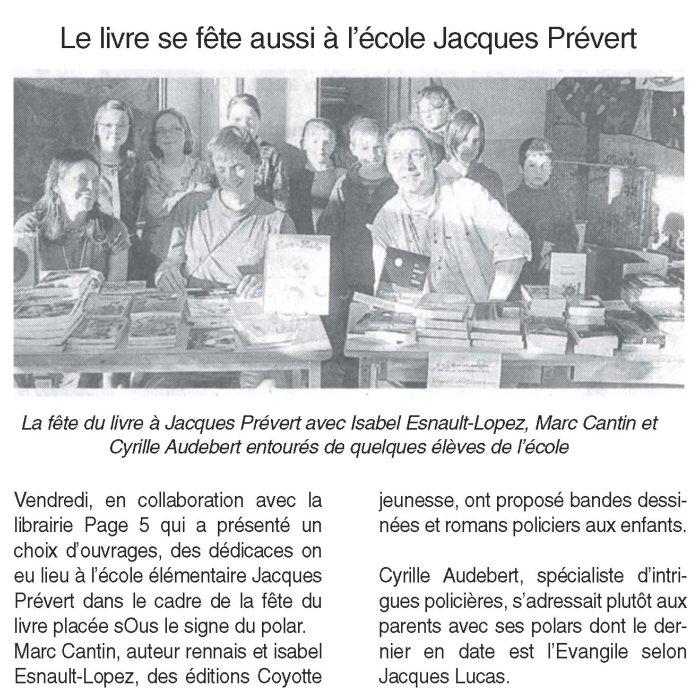Rencontre Ecole J. Prévert